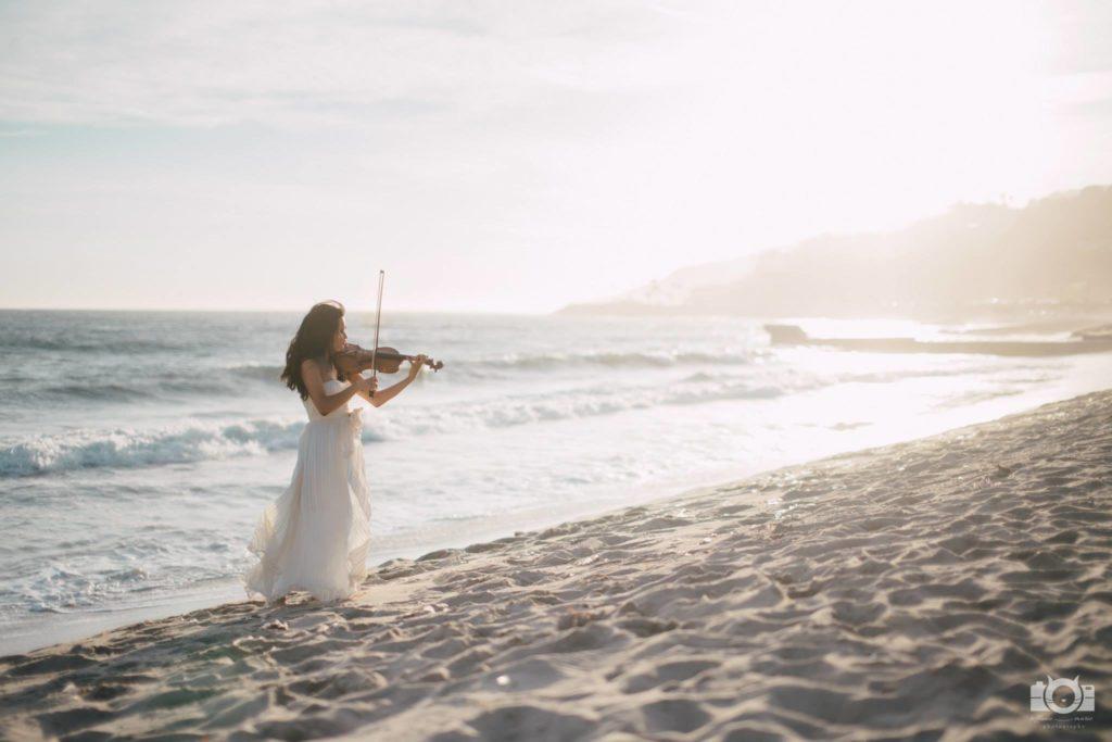 female hip hop violinist los angeles